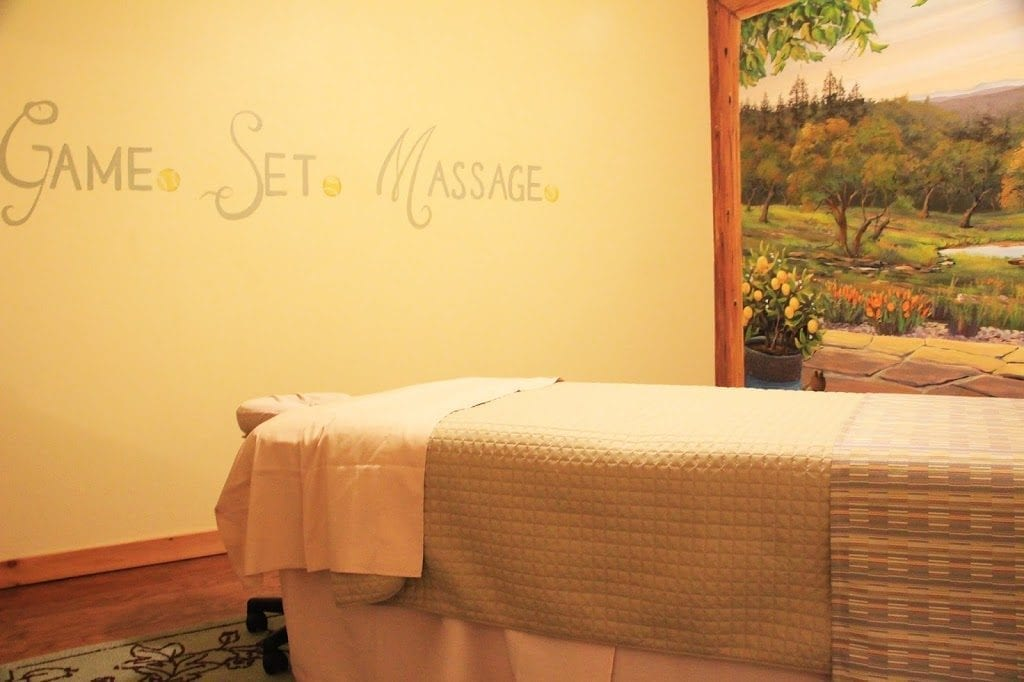 Private massage room at Courtwood Inn