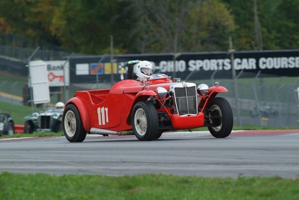 1950 MG TD Special