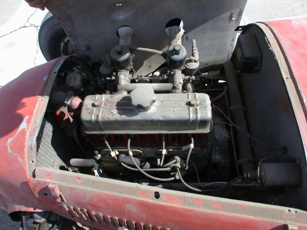 Original MG engine