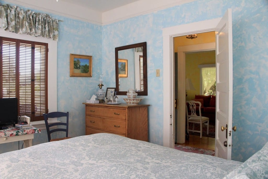 Meadowlark guest room at Secret Garden Inn & Cottages