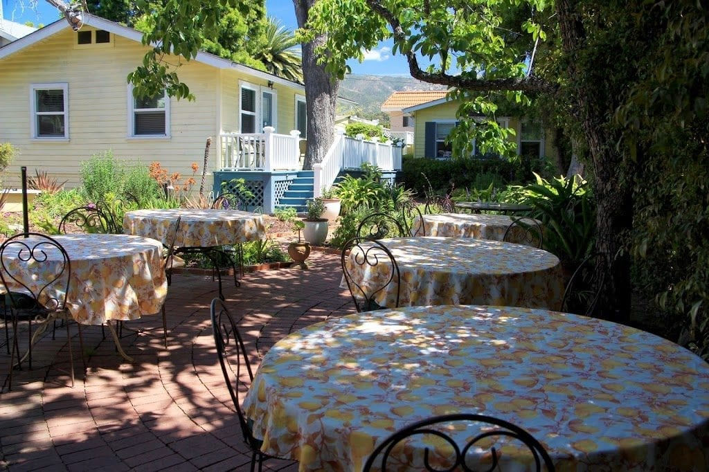 Secret Garden Inn & Cottages patio