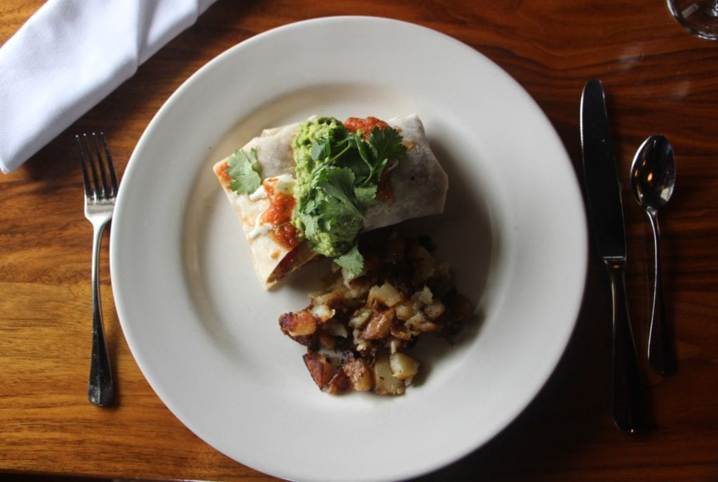 Breakfast at MacCallum House Restaurant: Lupe's Burrito