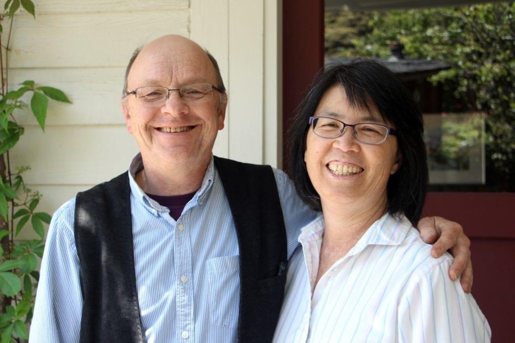 Eric Hillesland and Elaine Wing-Hillesland
