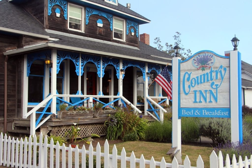 Country Inn Bed & Breakfast from North Main Street