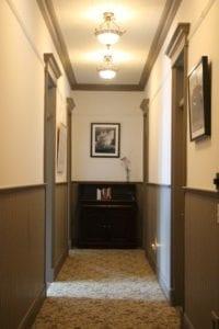 Hallway at the Westport Hotel