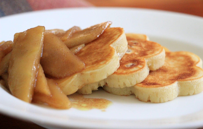 Apple Blossom Pancakes